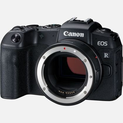 Canon EOS RP + RF 24-105mm F4-7.1 IS STM Systemkamera 26,2 MP CMOS 6240 x 4160 Pixel Schwarz
