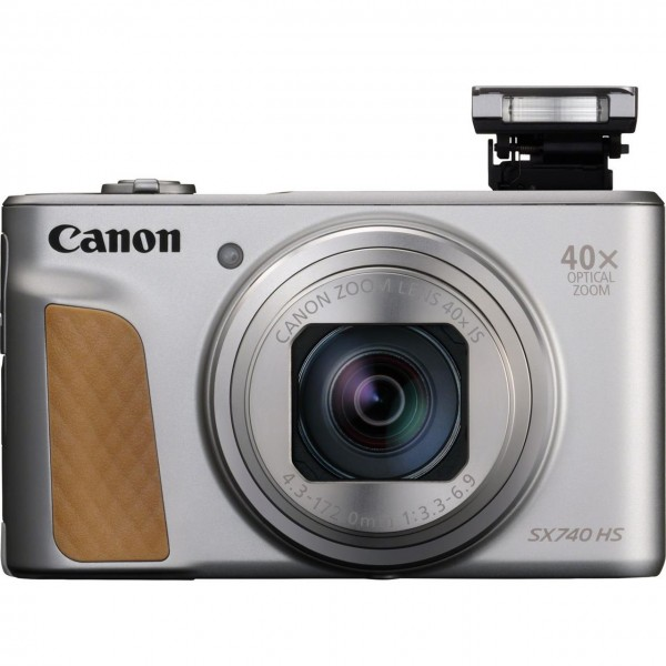 Canon PowerShot SX740 HS Kompaktkamera 20,3 MP CMOS 5184 x 3888 Pixel 1/2.3 Zoll Silber