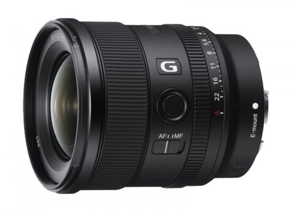 Sony SEL 20mm 1,8 FE G Objektiv