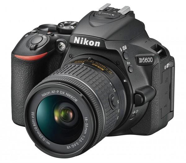 Nikon D5600+AF-P DX 3,5-5,6/18-55mm G VR schwarz Kit