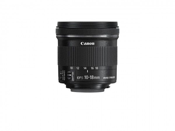 Canon EF-S10-18ISSTM Ultraweitwinkelobjektiv Schwarz
