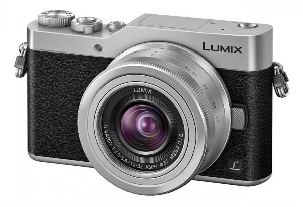 Lumix DC-GX800 Kit inkl. G-Vario 3,5-5,6/12-32 Mega-OIS silber-sw