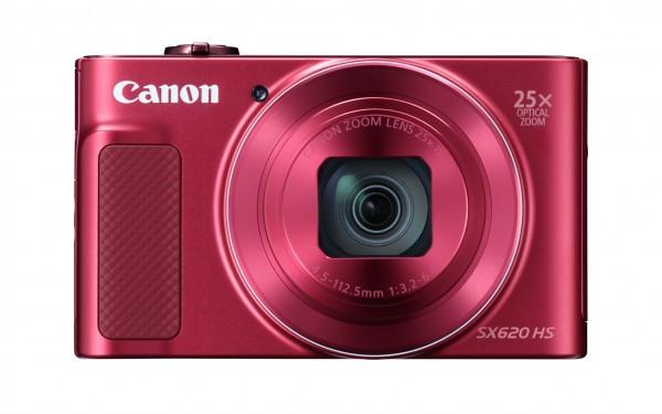 Canon PowerShot SX620 HS Kompaktkamera 20.2MP 1/2.3Zoll CMOS 5184 x 3888Pixel Rot