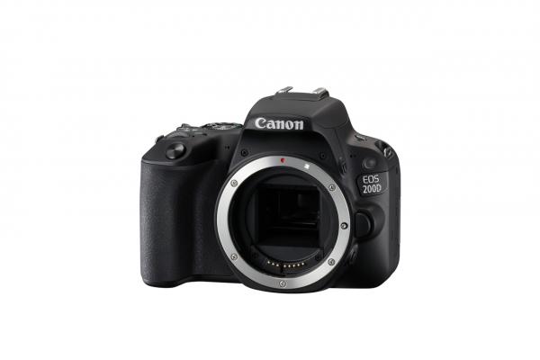 Canon EOS 200D SLR-Kameragehäuse 24.2MP CMOS 6000 x 4000Pixel Schwarz
