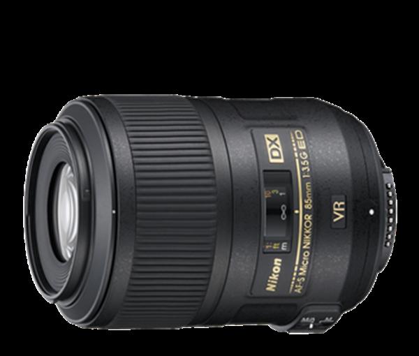 Objektiv Nikkor AF-S DX 3,5 / 85 mm G ED VR Micro