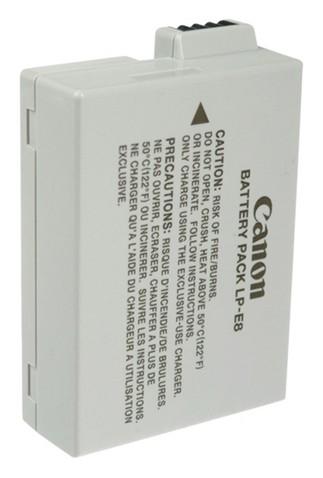Canon LP-E8 Lithium-Ion (Li-Ion) Wiederaufladbare Batterie