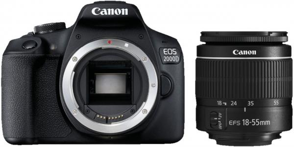 EOS 2000D + EF-S 18-55 III