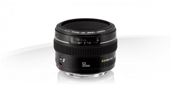 Canon EF 50mm 1:1,4 USM SLR Standardobjektiv Schwarz