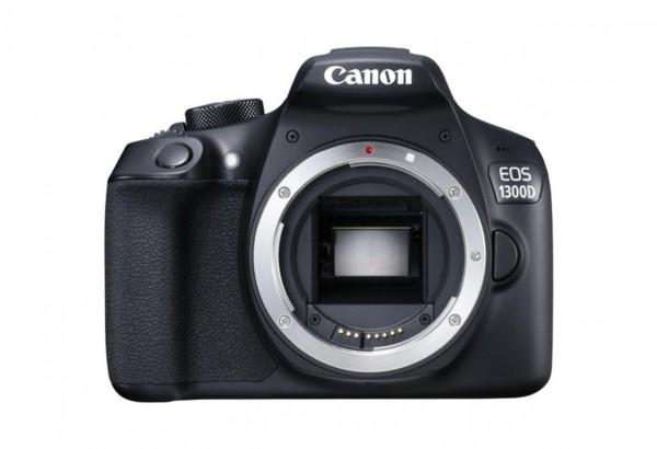 Canon EOS 1300D BODY SLR-Kameragehäuse 18MP CMOS 5184 x 3456Pixel Schwarz