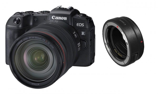 Canon EOS RP Kit RF 24-105 mm und Adapter EF-EOS R