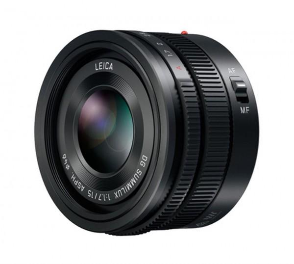 Objektiv LEICA DG SUMMILUX 1,7 / 15 mm ASPH. schwarz