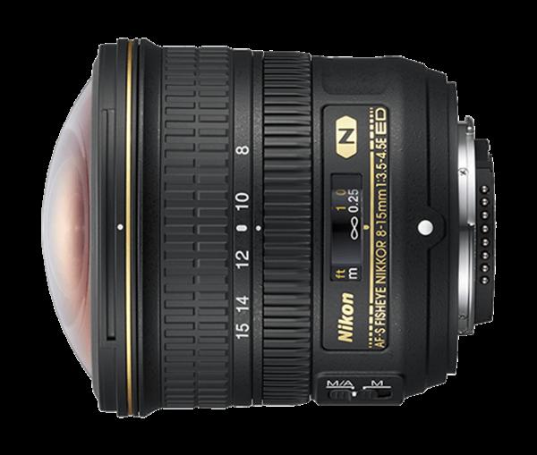 Nikon Nikkor AF-S 3,5-4,5/8-15 mm E ED Fisheye Objektiv