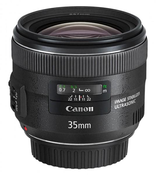 Canon EF 35mm f/2 IS USM Weitwinkelobjektiv Schwarz