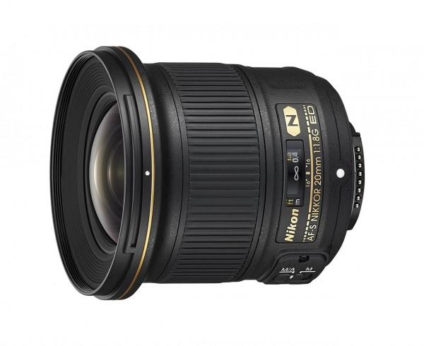 Nikon Nikkor AF-S 1,8/20 mm G ED Objektiv