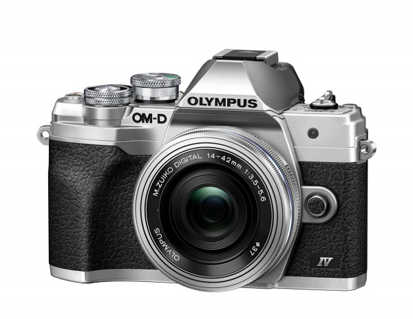 Olympus OM-D E-M10 M IV+ED 3,5-5,6/14-42 mm EZ silber Kamera-Kit