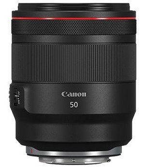 Canon RF 50mm f/1.2L USM MILC/SLR Standardobjektiv Schwarz