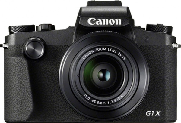 Canon PowerShot G1 X Mark III SLR-Kamera-Set 24.2MP 6000 x 4000Pixel Schwarz