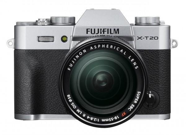 Fujifilm X-T20 Kit 18-55mm silber