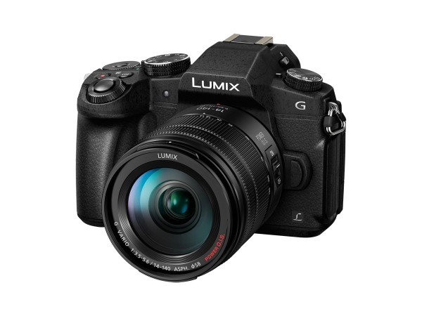 Panasonic Lumix G81+3,5-5,6/14-140 mm P-OIS II schwarz G X Vario-Kit
