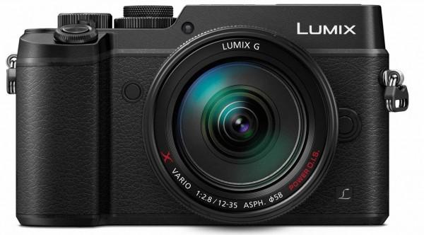 Lumix DMC-GX8 Kit inkl. Lumix G X Vario 2,8 / 12-35 mm ASPH Power OIS schwarz