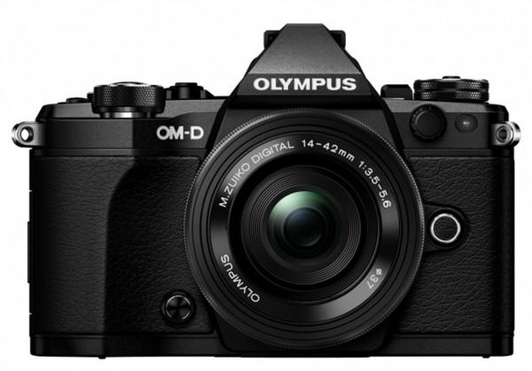 Olympus OM-D E-M5 Mark II 14-42 EZ KIT schwarz