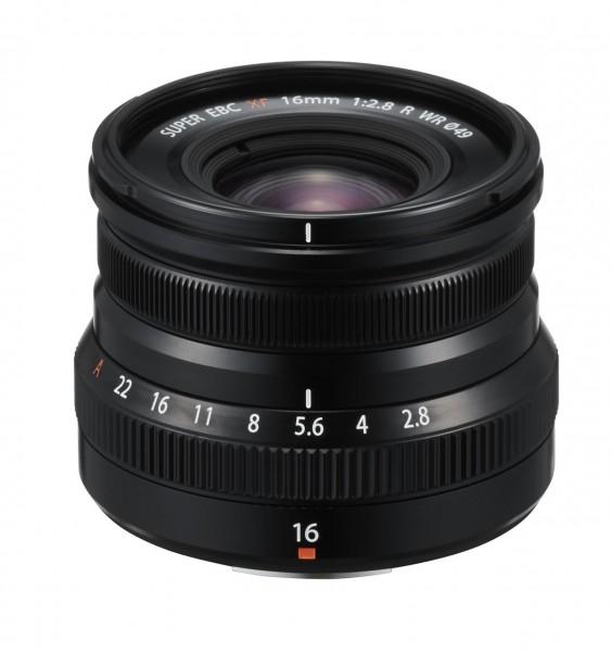 Fujifilm XF 16mm F2,8 R WR  Black