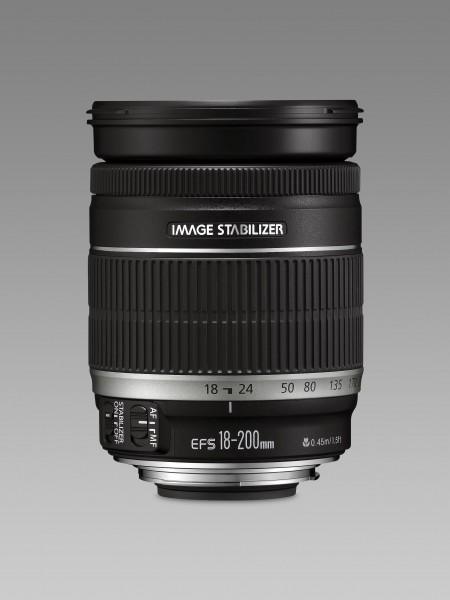 Canon EF-S 18-200mm f/3.5-5.6 IS SLR Schwarz