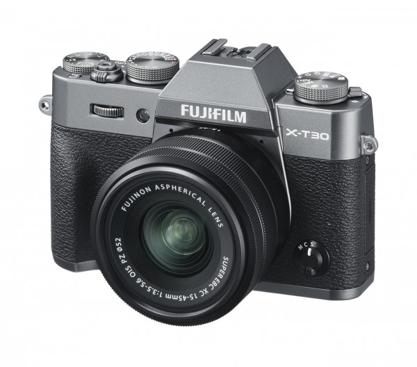 FUJIFILM X-T30 Kit XC 15-45mm anthrazit