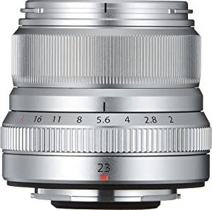Fujifilm XF 23mm F2 R WR silber
