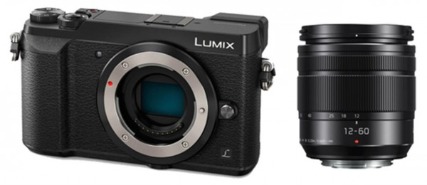 Panasonic Lumix GX80+3,5-5,6/12-60mm OIS schwarz G Vario-Kit