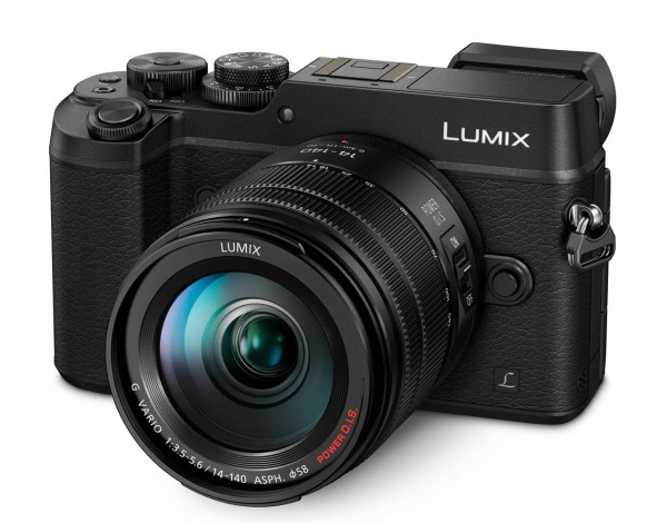 Lumix DMC-GX8 Kit inkl. 3,5 - 5,6 / 14-140 mm Power OIS schwarz