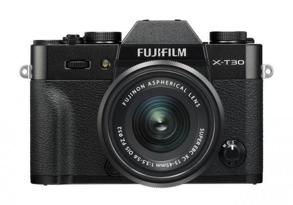 FUJIFILM X-T30 Kit XC 15-45mm schwarz