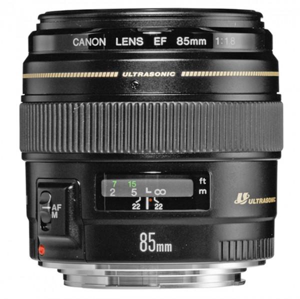 Canon EF 85mm f/1.8 USM SLR Standardobjektiv Schwarz