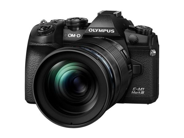 Olympus OM-D E-M1 Mark III Kit 12-100 mm PRO schwarz