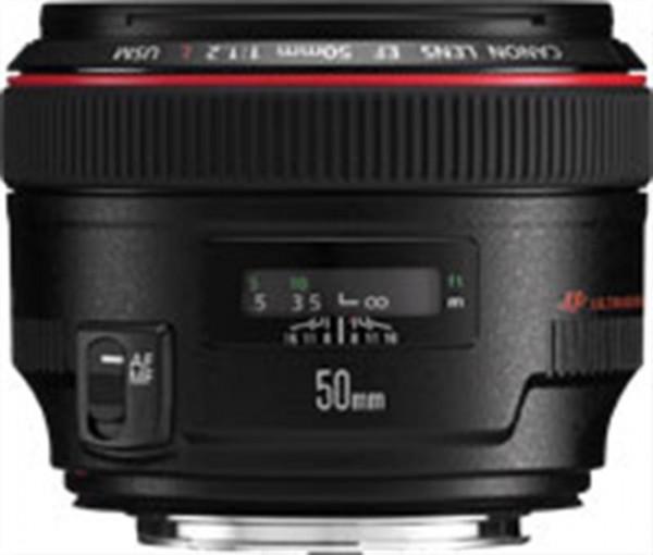 Canon EF 50mm f/1.2L USM SLR Schwarz