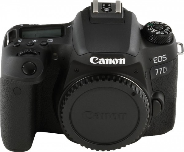 Canon EOS 77D + EF-S 18-135mm 3.5-5.6 IS USM SLR-Kamera-Set 24.2MP CMOS 6000 x 4000Pixel Schwarz