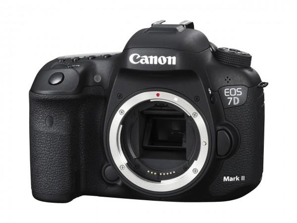 Canon EOS 7D Mark II + W-E1 SLR-Kameragehäuse 20,2 MP CMOS 5472 x 3648 Pixel Schwarz