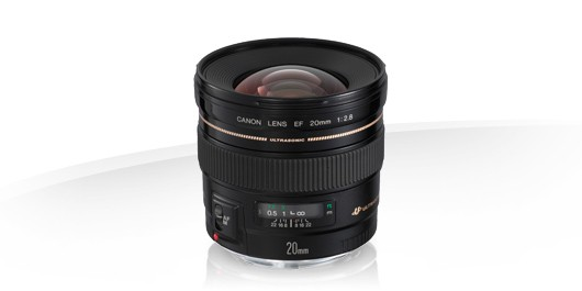 Canon EF 20mm f/2.8 USM SLR Ultraweitwinkelobjektiv Schwarz