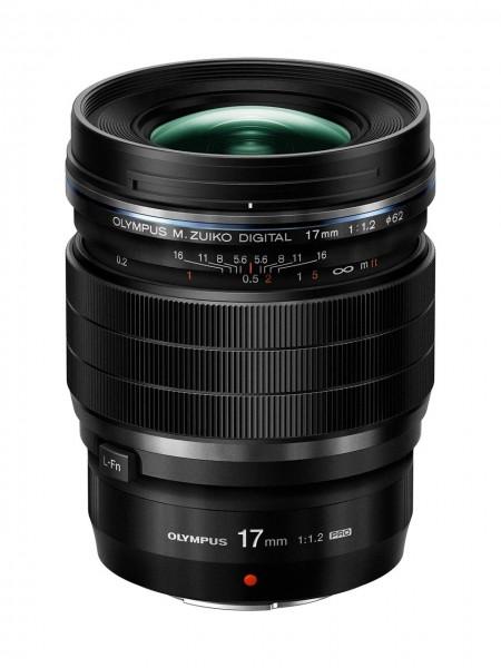 Olympus M.Zuiko ED 1,2/17 mm PRO schwarz Digital Objektiv