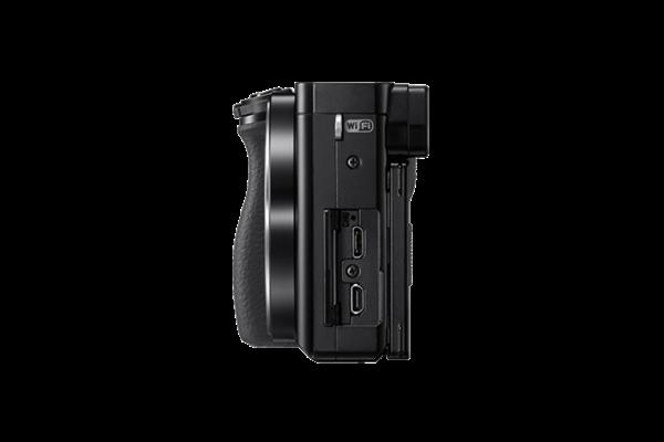 Alpha ILCE-6000 inkl. 3,5-5,6 / 16-50 mm OSS schwarz