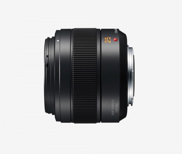 Panasonic LEICA DG SUMMILUX 1,4/25 mm ASPH II, Objektiv