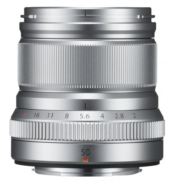 Fujifilm XF 50mm F2 R WR Silber