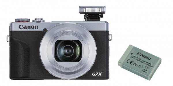 Canon PowerShot G7X MK III silber inkl. Zusatzakku