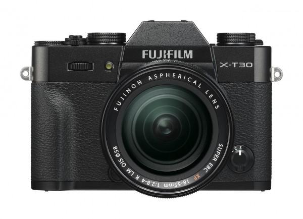 FUJIFILM X-T30  Kit XF 18-55mm schwarz
