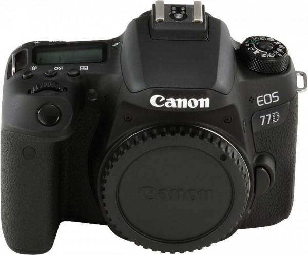 Canon EOS 77D SLR-Kameragehäuse 24.2MP CMOS 6000 x 4000Pixel Schwarz