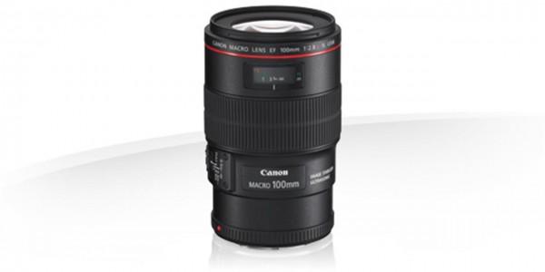 Canon EF10028LMIS SLR Makro-Teleobjektiv Schwarz