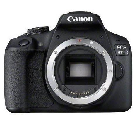 Canon EOS 2000D BK BODY EU26 SLR-Kameragehäuse 24.1MP CMOS 6000 x 4000Pixel Schwarz
