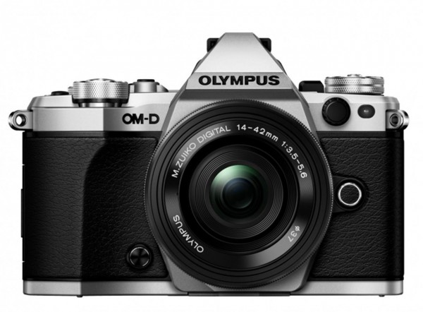 Olympus OM-D E-M5 Mark II 14-42 EZ Kit silber