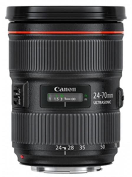 Canon EF 24-70mm f/2.8L II USM SLR Standardobjektiv Schwarz