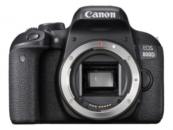 Canon EOS 800D SLR-Kameragehäuse 24.2MP CMOS 6000 x 4000Pixel Schwarz